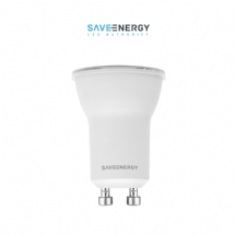 LAMPADA DICR. MINI 4W GU-10 BIV 2700K SAVE ENERGY - 07650