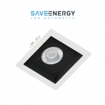 SPOT EMB QUAD REC BR/PT MINI DICR GU10 SAVE ENERGY - 07636