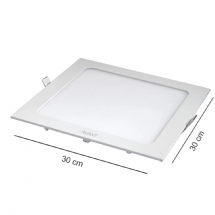 LUMINARIA    PLAFON QUAD SLIM LED 24W 6500K AVANT - 06211