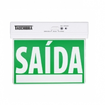 PLACA LED SAIDA FACE UNICA 8 LED PVDS25U TASCHIBRA - 07440